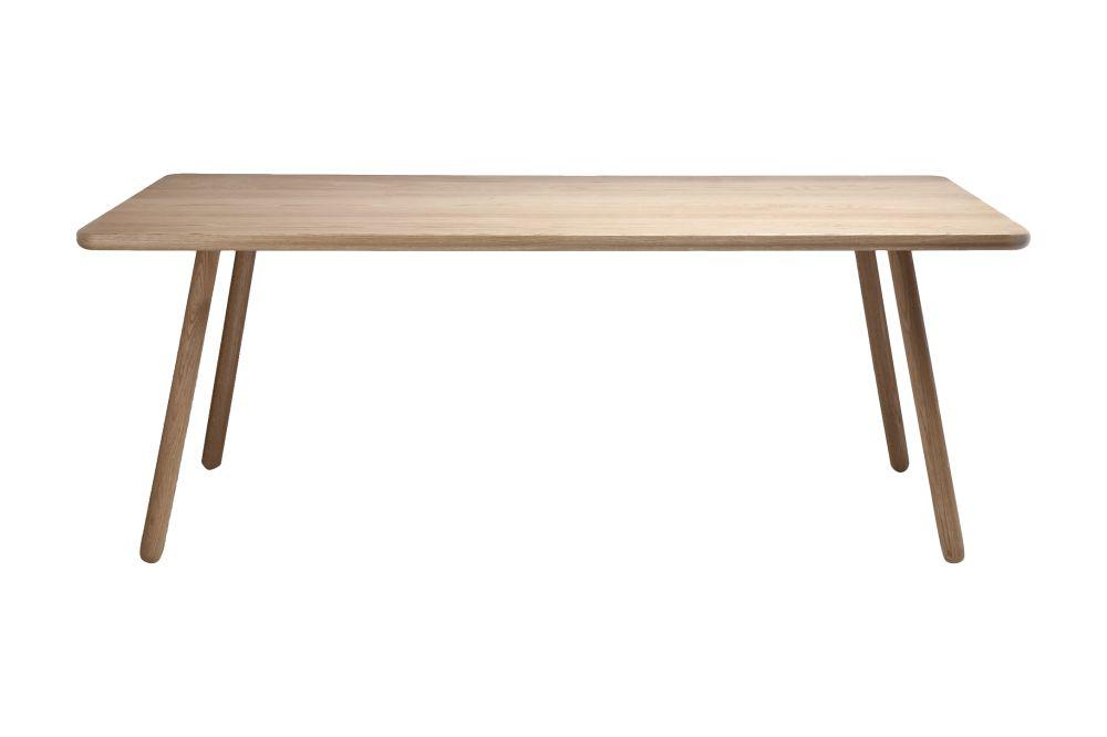Dining Table One Rectangular Oak 160 X 80 X 74