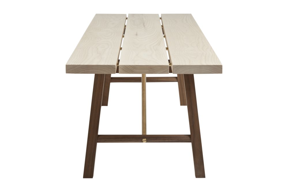Walnut and Ash,Another Country,Benches,desk,furniture,outdoor table,plywood,table,wood