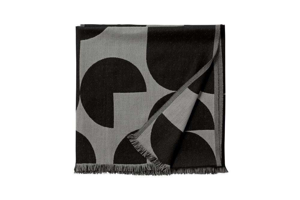 Black & Light Grey,AYTM,Blankets & Throws,textile