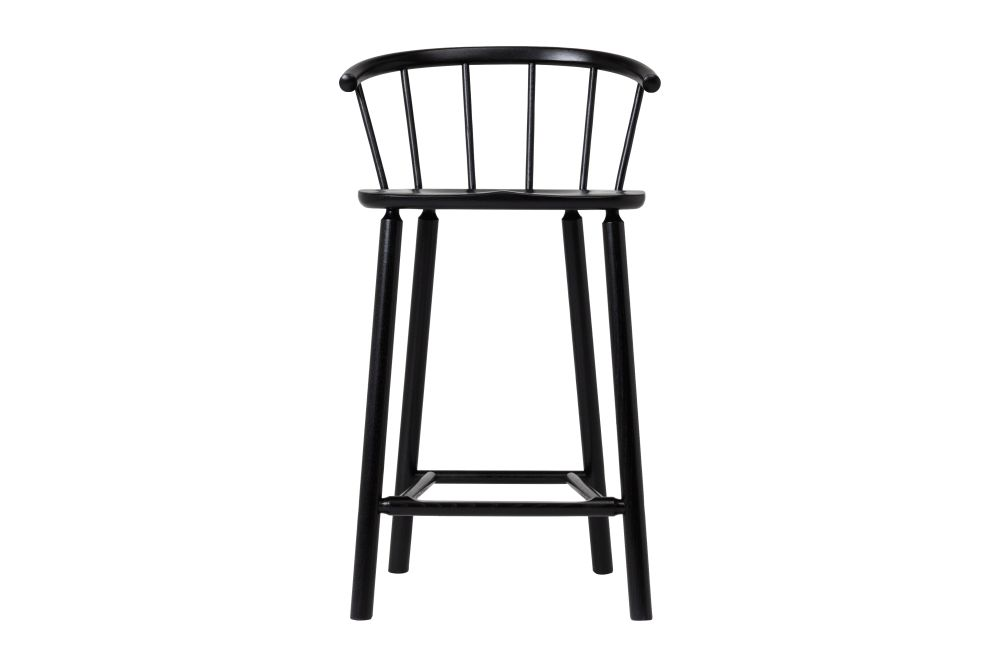 RAL9004 Black, 49.3 x 44.5 x 87.4 x 65,Another Country,Stools,bar stool,chair,furniture,outdoor furniture,stool