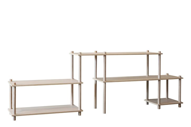 Elevate shelving system 8 by WOUD