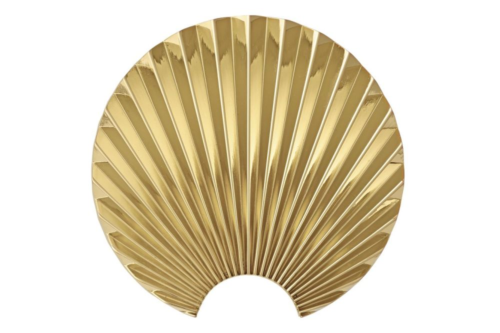 Gold, Small,AYTM,Hooks & Hangers,beige,decorative fan,hand fan,leaf