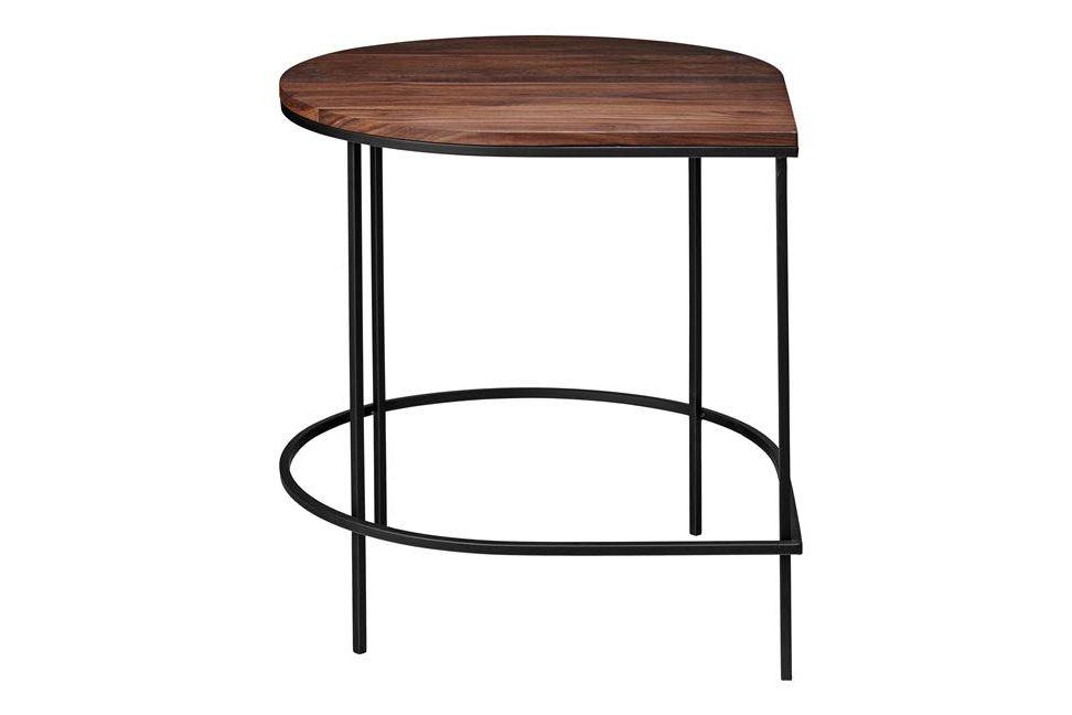 Walnut & Black,AYTM,Coffee & Side Tables,bar stool,end table,furniture,stool,table