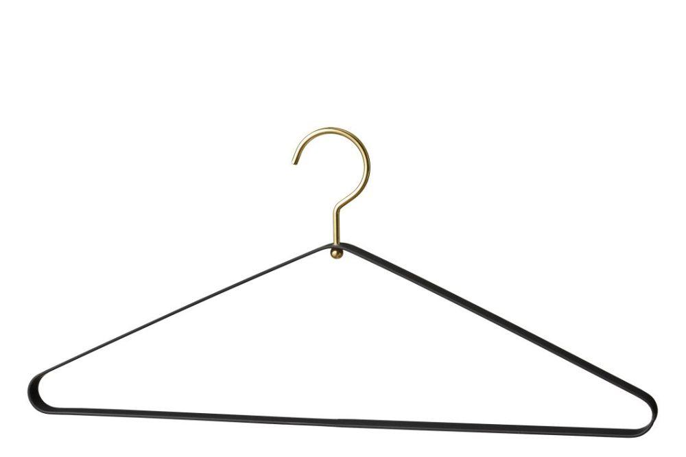 Black & Gold,AYTM,Hooks & Hangers,clothes hanger,line,triangle