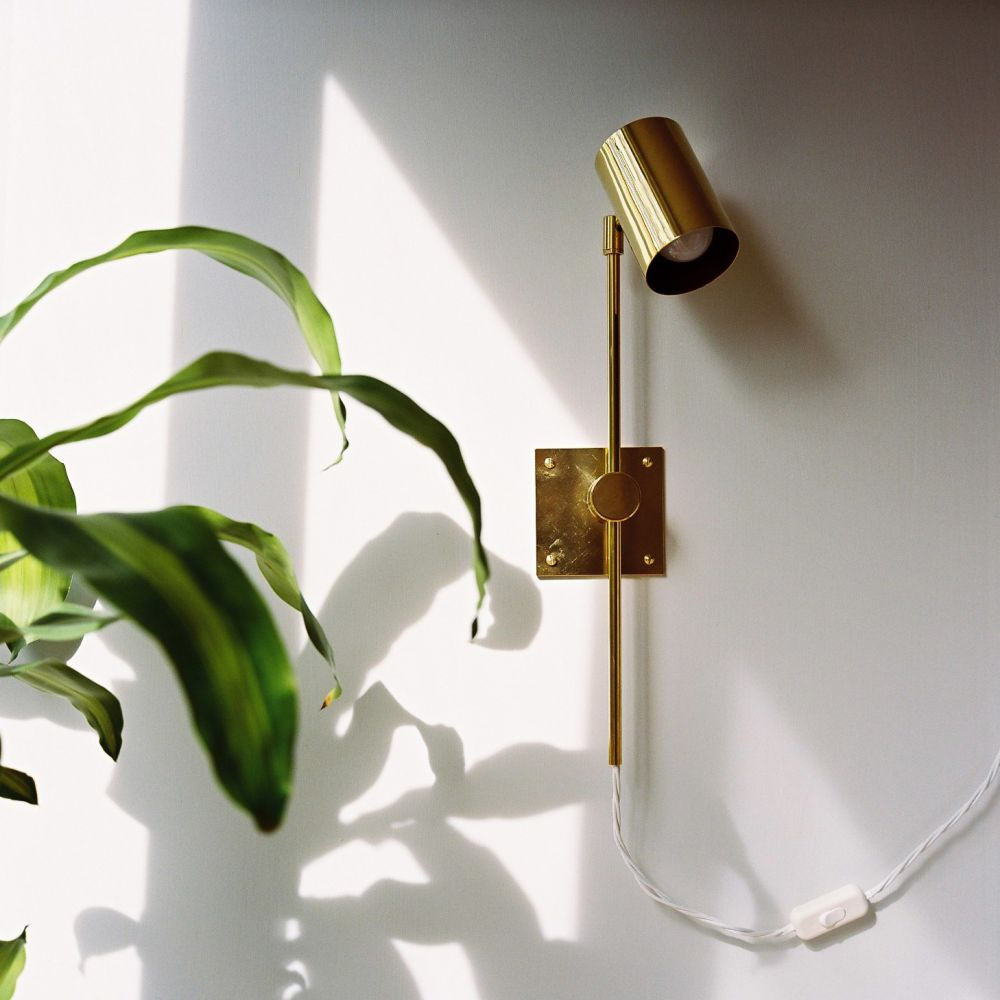 Pavilion Series Wall Lamp - Black Cord,John Hollington Design,Wall Lights,sconce