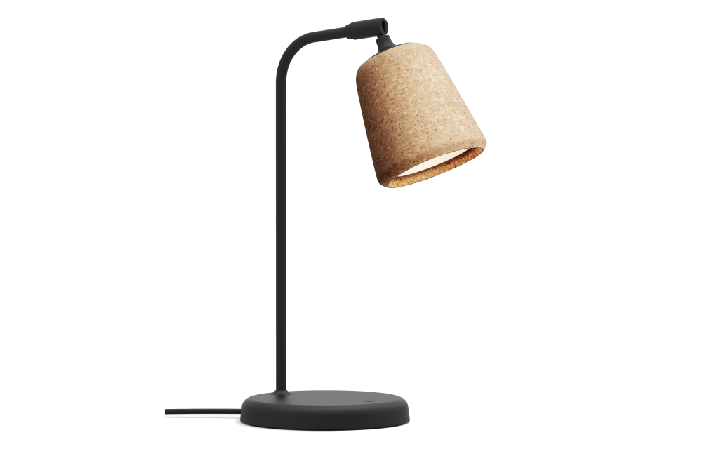Natural Cork,New Works,Table Lamps,lamp,light,light fixture,lighting