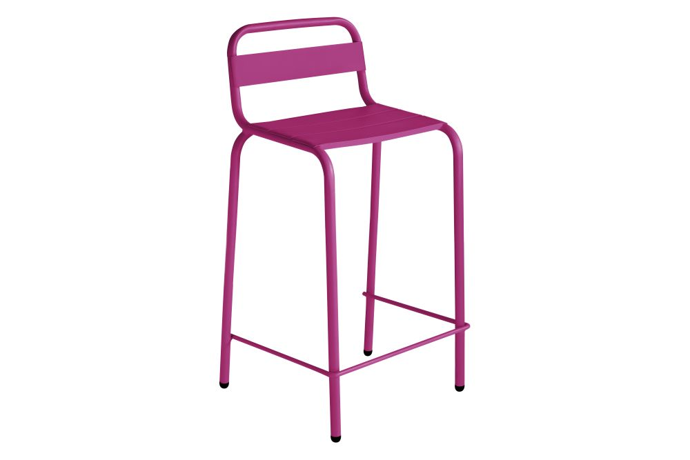 RAL 9016 Ibiza White,iSiMAR,Stools,bar stool,furniture,line,magenta,pink