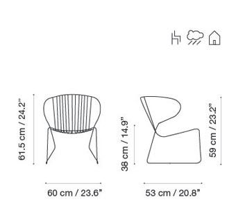 RAL 9016 Ibiza White,iSiMAR,Armchairs,design,diagram,font,line,text