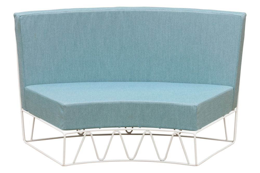 RAL 9016 Ibiza White, Panama 3657 Onyx,iSiMAR,Sofas,chair,furniture,outdoor furniture,turquoise