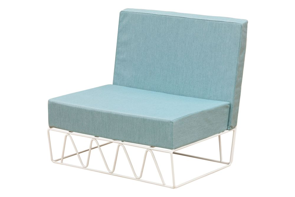 Lagarto Straight Modular Sofa by iSiMAR