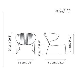 RAL 9016 Ibiza White,iSiMAR,Armchairs,line,text