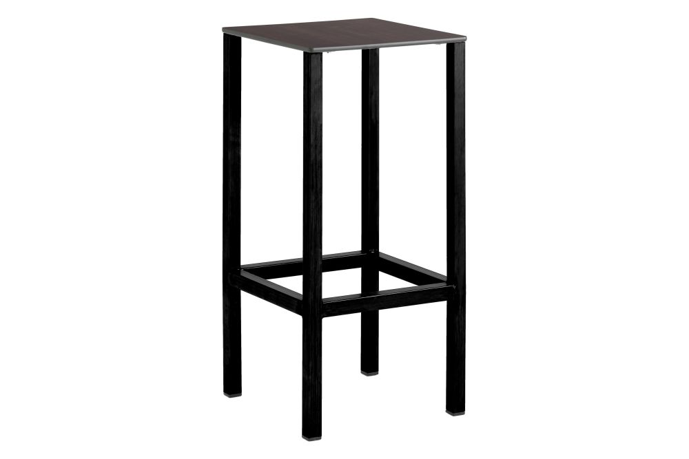 RAL 9016 Ibiza White, Compact Top Black,iSiMAR,Stools,bar stool,furniture,table