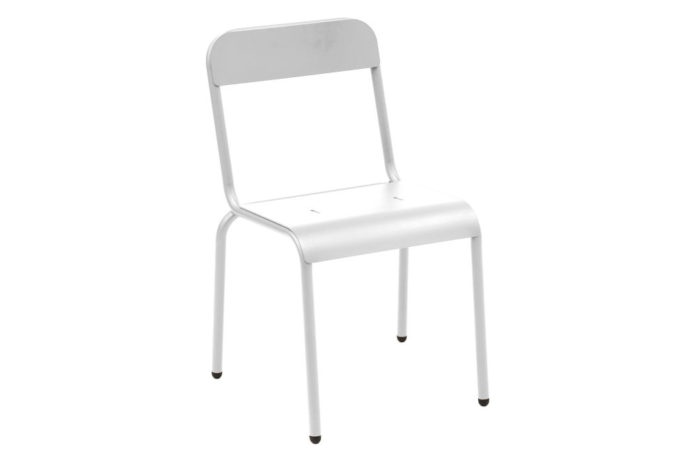 Aluminium Polyester Powder Coated, RAL 9016 Ibiza White,iSiMAR,Dining Chairs,chair,furniture
