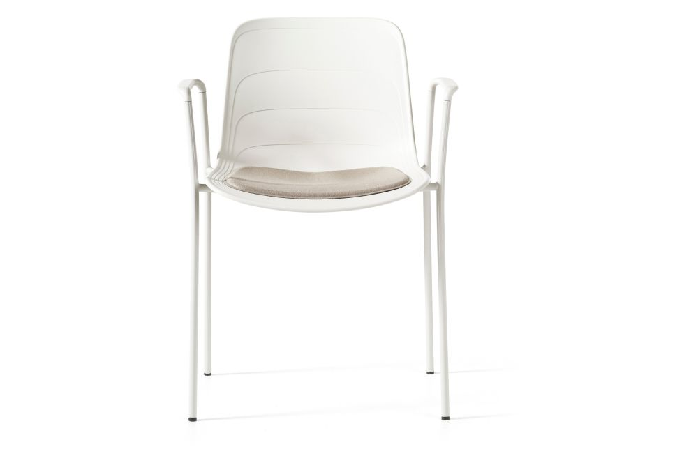 Divina 3 224, White/Grey 895 RAL 9002,Lammhults,Breakout & Cafe Chairs,chair,furniture,product,white
