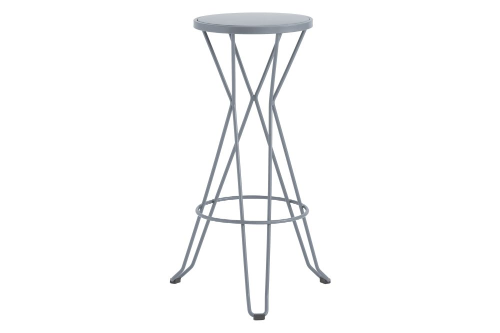 76, RAL 9016 Ibiza White,iSiMAR,Stools,bar stool,furniture,stool,table