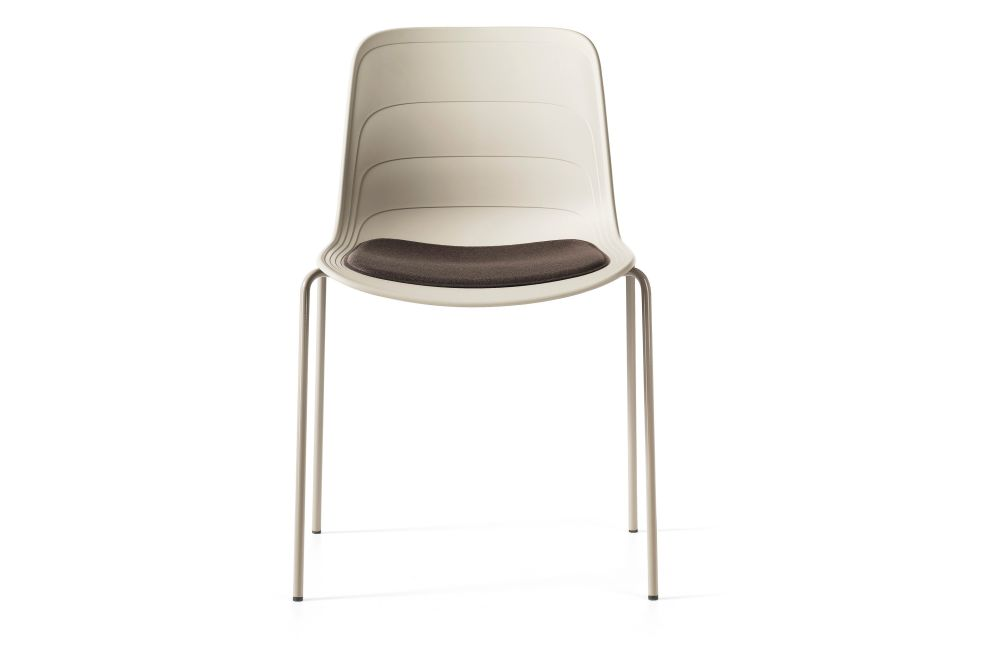Divina 3 224, White/Grey 895 RAL 9002,Lammhults,Breakout & Cafe Chairs,beige,chair,furniture,product