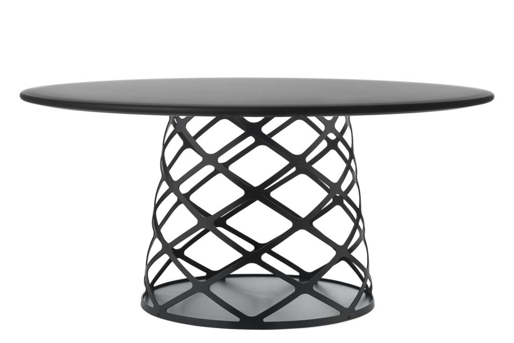 Metal Black, 120 x 46, Gubi Laminate Black,GUBI,Coffee & Side Tables,coffee table,end table,furniture,outdoor table,table