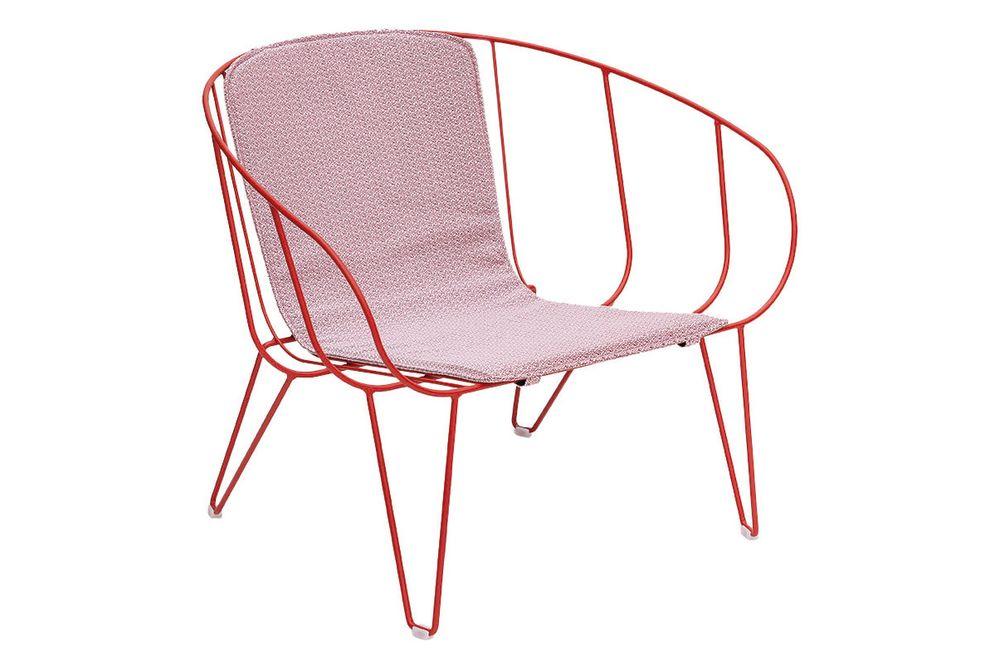 RAL 9016 Ibiza White, Panama 3657 Onyx,iSiMAR,Lounge Chairs,chair,furniture,line
