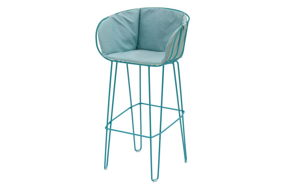 RAL 9016 Ibiza White, Panama 3657 Onyx,iSiMAR,Workplace Stools,bar stool,chair,furniture,stool,turquoise