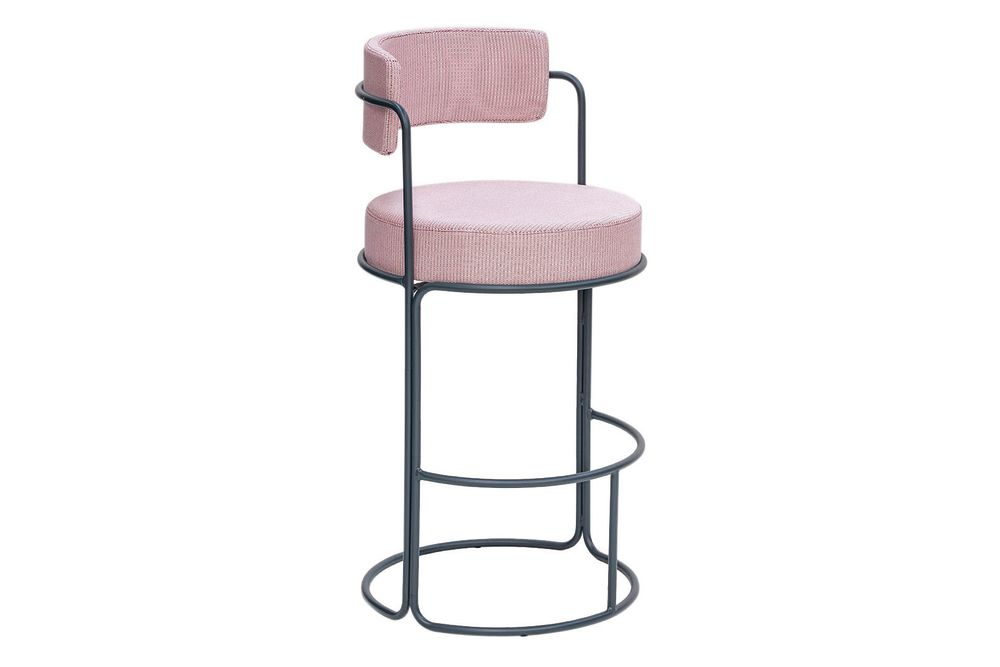 RAL 9016 Ibiza White, Panama 3657 Onyx,iSiMAR,Stools,bar stool,furniture