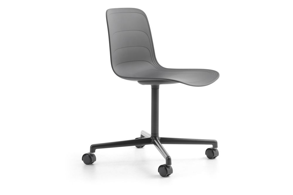 White/Grey 895 RAL 9002,Lammhults,Conference Chairs,chair,furniture,line,material property,office chair,plastic,product