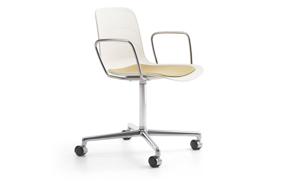 White/Grey 895 RAL 9002, Divina 3 224,Lammhults,Conference Chairs,beige,chair,furniture,line,material property,office chair,product