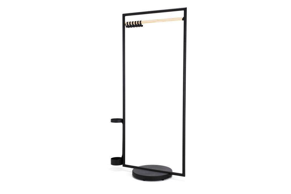 Black 800 RAL 9005, White Matt 890 RAL 9016, Black Polyamide, Natural, 75cm,Lammhults,Coat Stands,parallel