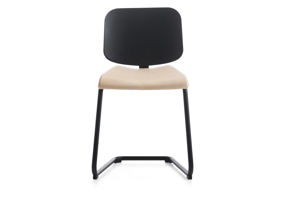 Blazer Aberdeen CUZ87, White Matt 890 RAL 9016, Black Polyurethane,Lammhults,Breakout & Cafe Chairs,chair,furniture,product