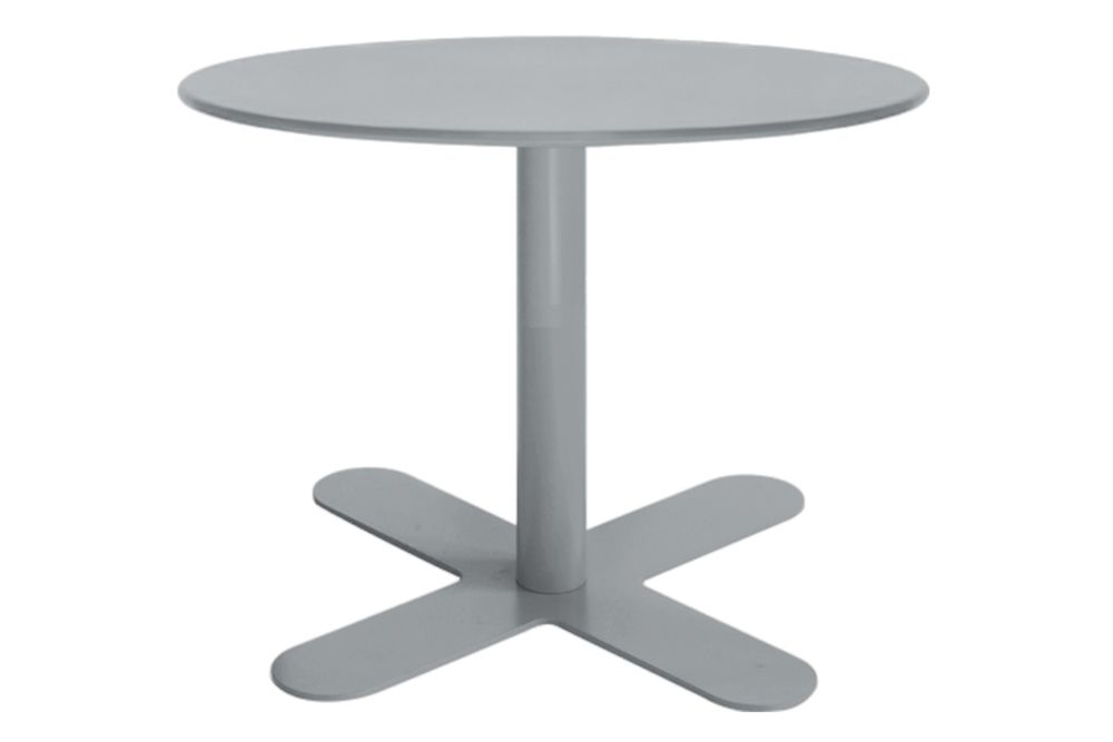 60, RAL 9016 Ibiza White,iSiMAR,Coffee & Side Tables,coffee table,end table,furniture,outdoor table,table