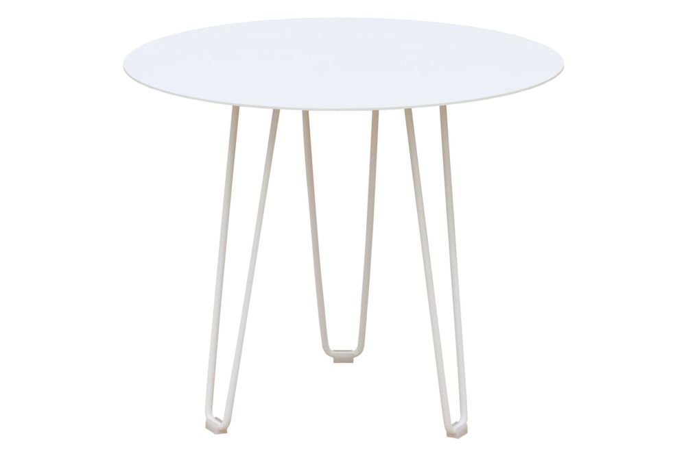 RAL 9016 Ibiza White, 60,iSiMAR,Coffee & Side Tables,coffee table,end table,furniture,outdoor table,table