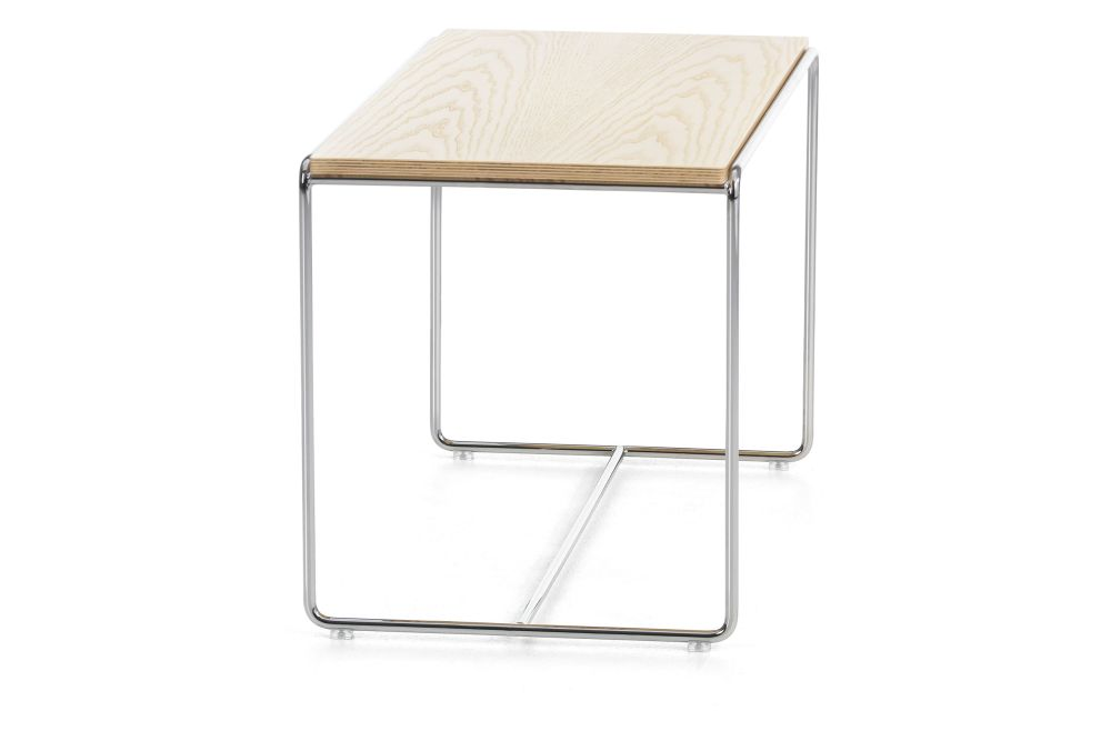 White Matt 890 RAL 9016, Natural, 45, 40, 40,Lammhults,Coffee & Side Tables,end table,furniture,outdoor table,table