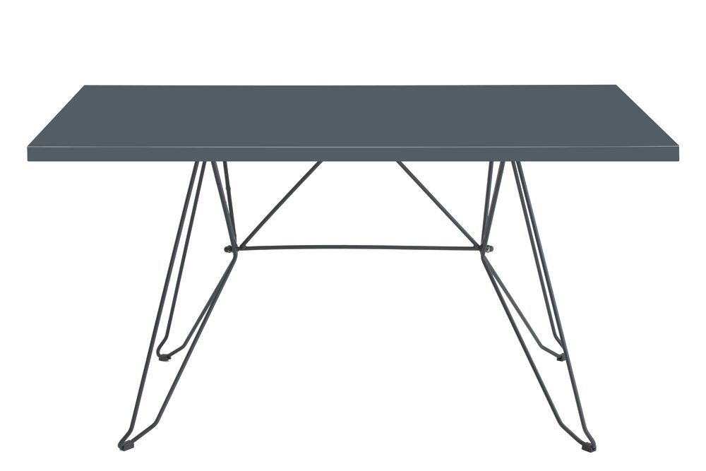 110 x 70, RAL 9016 Ibiza White,iSiMAR,Dining Tables,desk,furniture,outdoor table,rectangle,table