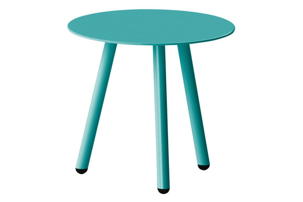 D60 x H50, RAL 9016 Ibiza White,iSiMAR,Tables & Desks,end table,furniture,green,outdoor furniture,outdoor table,stool,table,turquoise