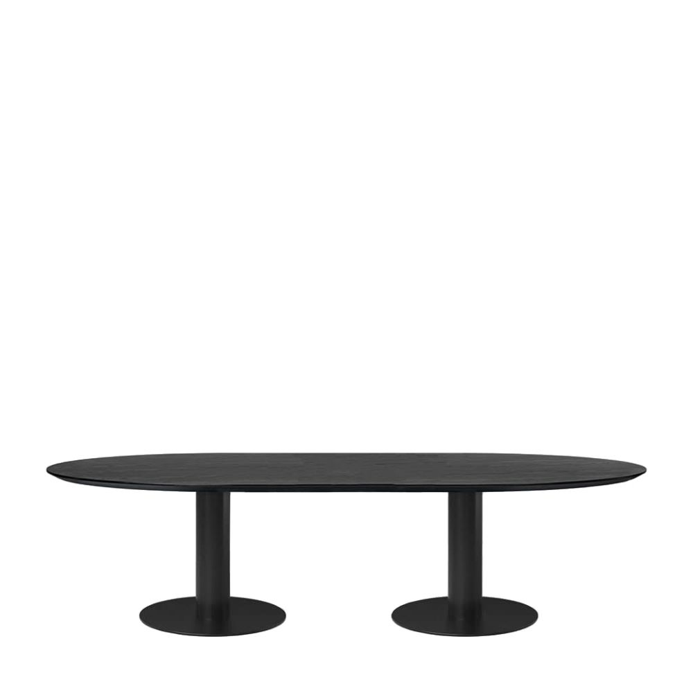 Gubi 2.0 Elliptical Dining Table - Laminate by Gubi