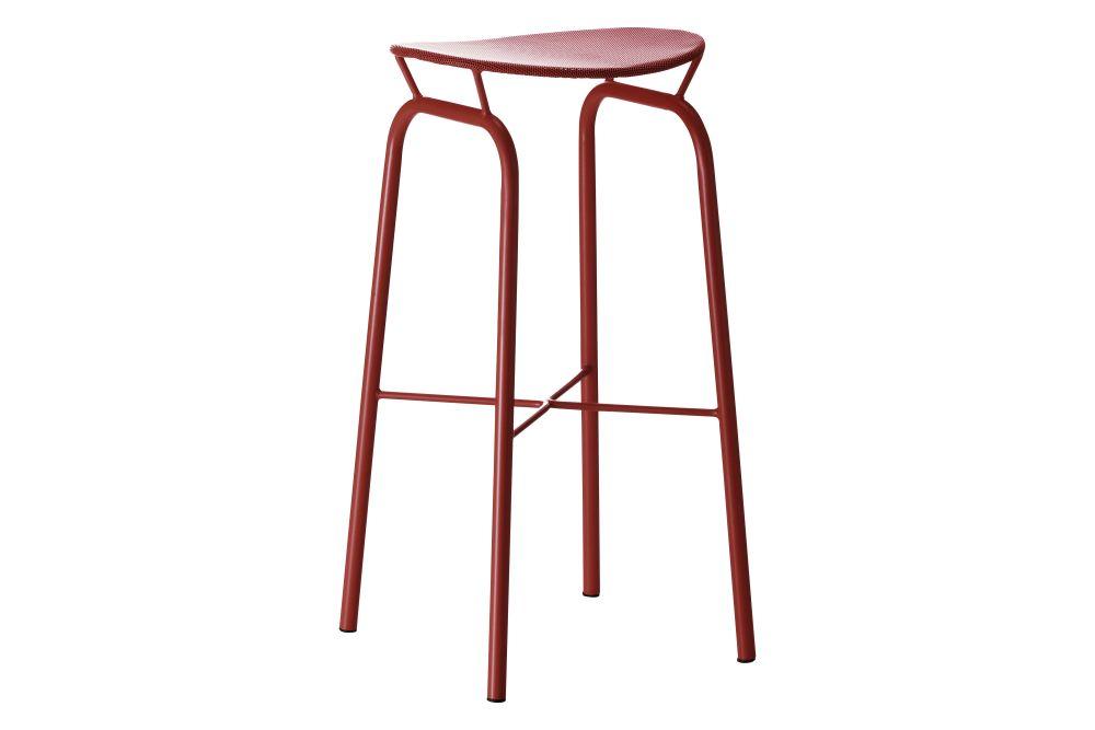 Gubi Metal Midnight Black,GUBI,Stools,bar stool,furniture,stool