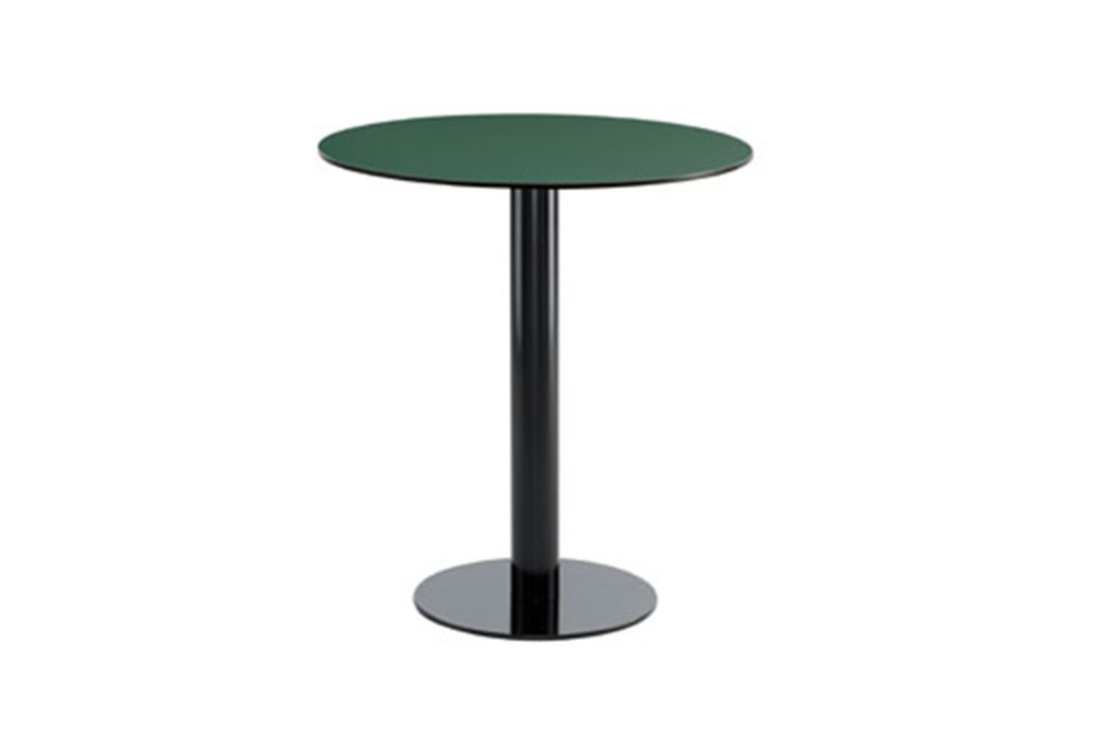 Max Round Dining Table with Compact Top Set of 3 by iSiMAR