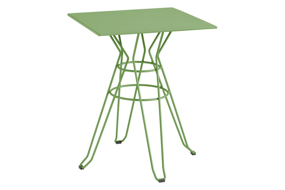 60 x 60 x 74, RAL 9016 Ibiza White,iSiMAR,Tables & Desks,end table,furniture,green,outdoor furniture,outdoor table,table