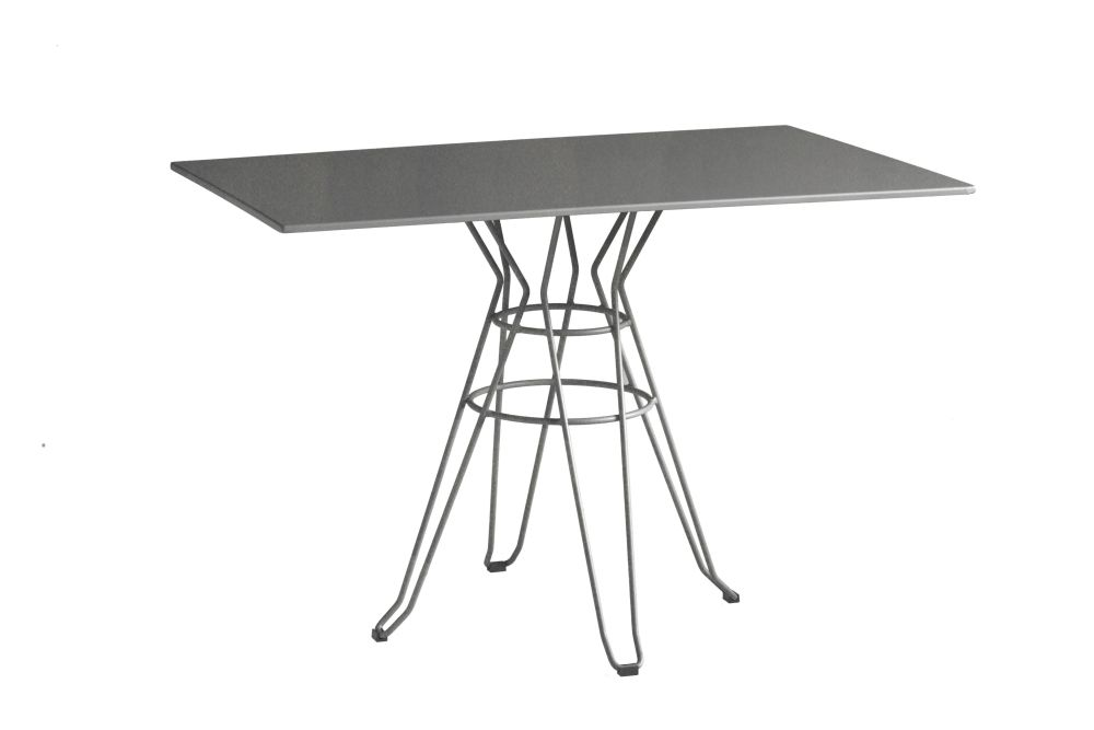 110 x 70, RAL 9016 Ibiza White,iSiMAR,Dining Tables,coffee table,end table,furniture,outdoor table,table