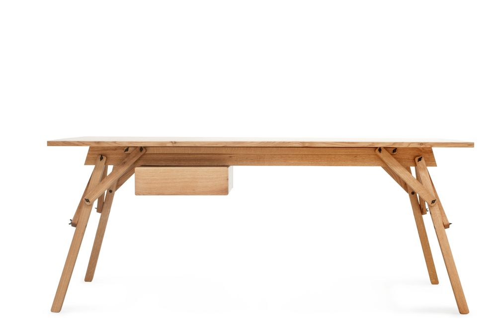 Atelier Desk with Drawer by Ubikubi