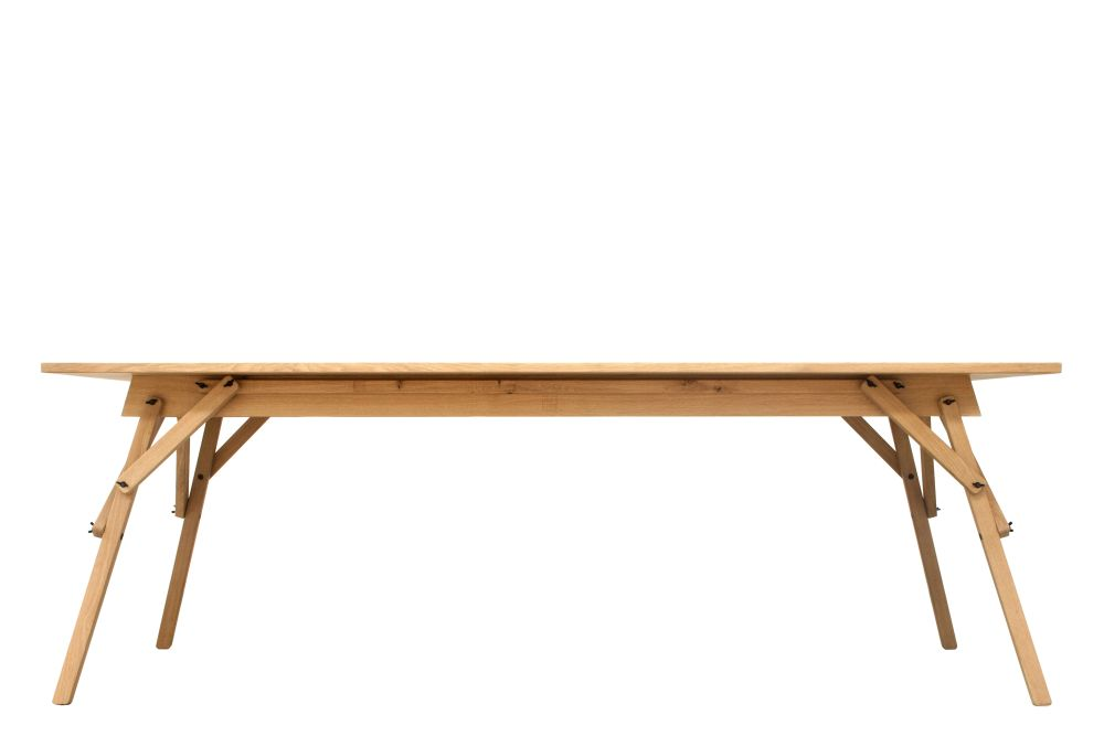 Atelier Dining Table oak varnished,ASKIA ,Dining Tables,desk,furniture,outdoor table,plywood,rectangle,table