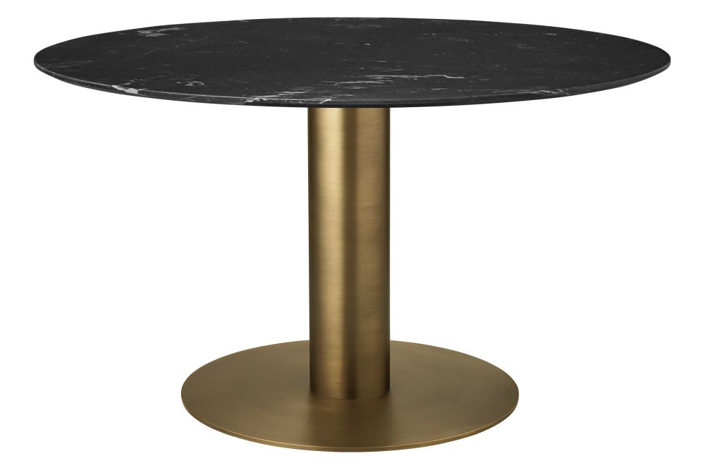 Shop Gubi 2 0 Round Dining Table Marble