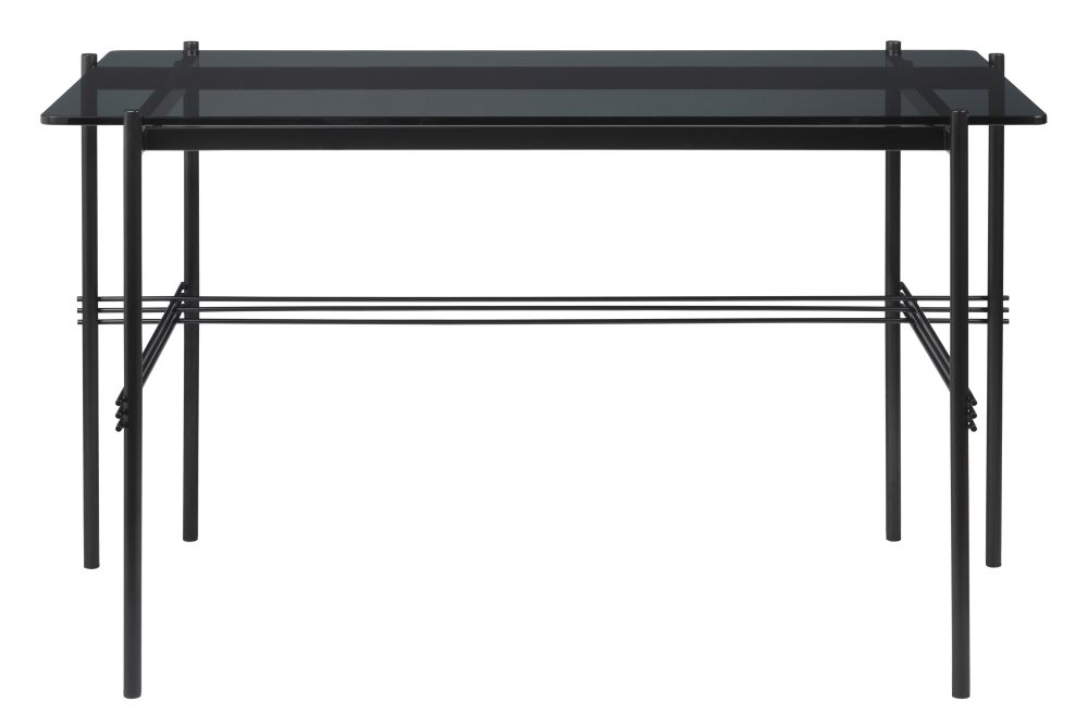 TS Desk with Glass Top by Gubi