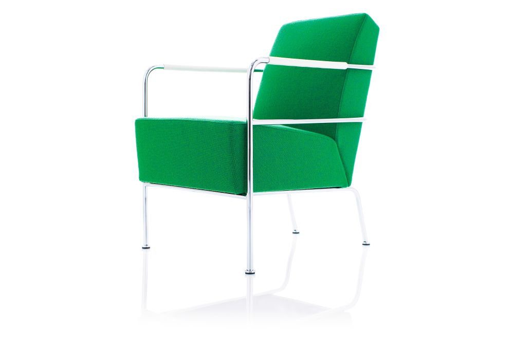 Blazer Aberdeen CUZ87, Chrome,Lammhults,Breakout Lounge & Armchairs,chair,furniture,green