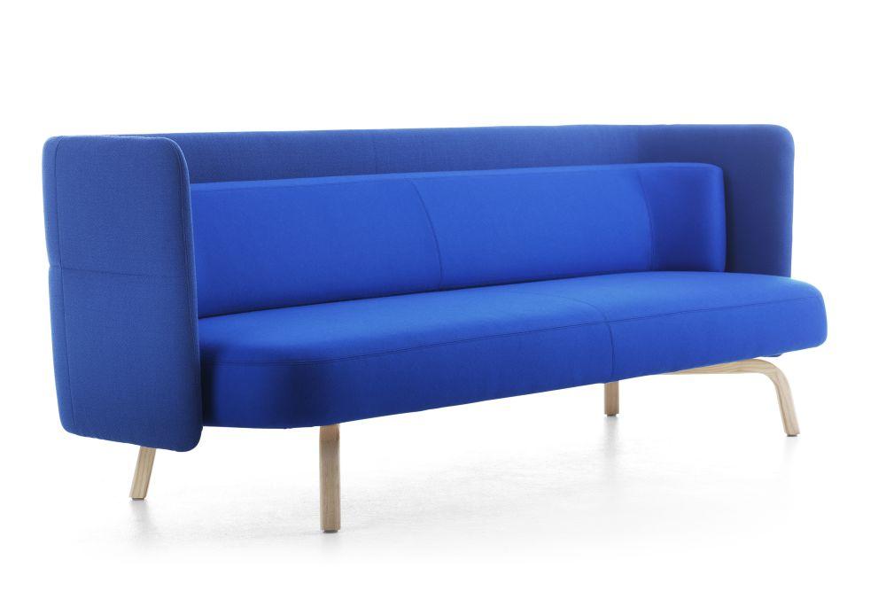 Blazer Aberdeen CUZ87, Chrome,Lammhults,Breakout Sofas,blue,cobalt blue,couch,electric blue,furniture,studio couch
