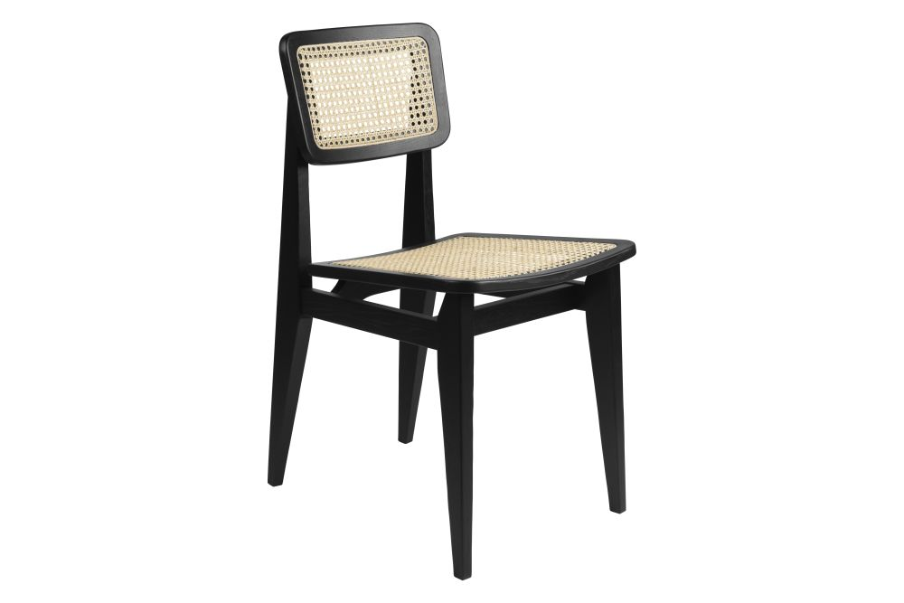 C-Chair Un-Upholstered Dining Chair by Gubi