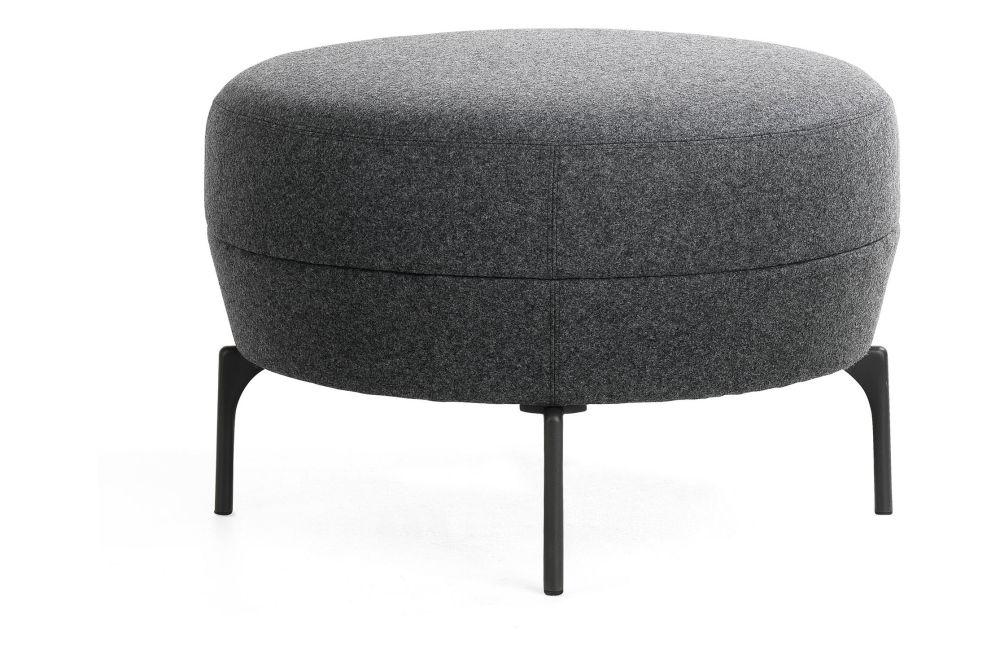 Blazer Aberdeen CUZ87, Black 801 RAL 9005, 75cm,Lammhults,Breakout Poufs & Ottomans,chair,furniture,ottoman