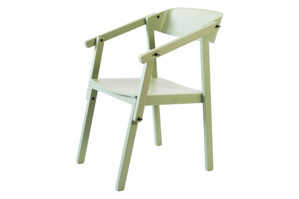 OAK GREEN paint RAL 6021,Ubikubi,Armchairs,chair,furniture,table