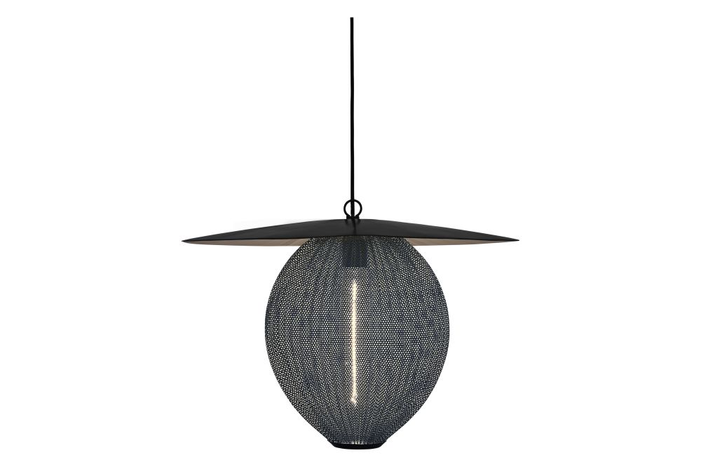 Soft Black Semi Matt, Medium,GUBI,Pendant Lights,ceiling,ceiling fixture,lamp,light fixture,lighting