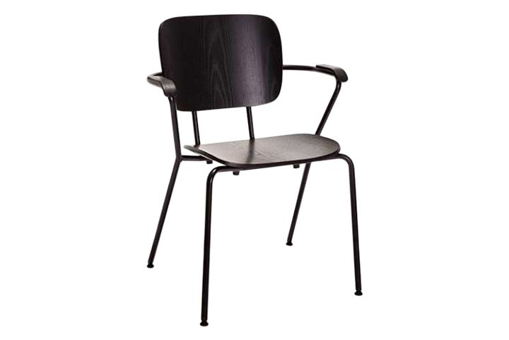 Nickel-Plated Black, Fresno 5004 PO Ash,Verges,Dining Chairs,chair,furniture
