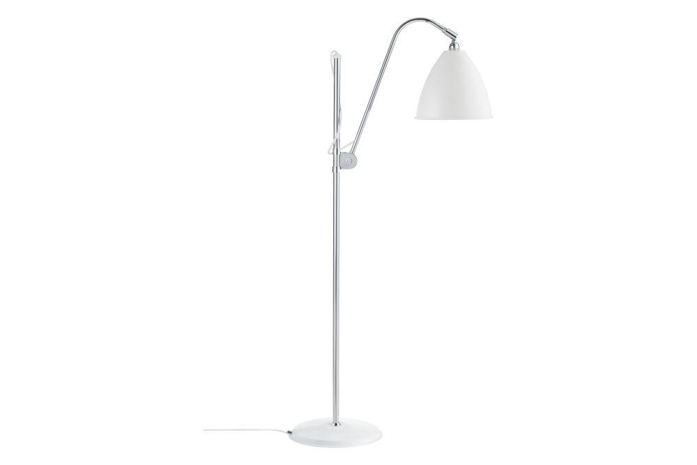 Bestlite BL3 Medium Floor Lamp, Chrome base by Gubi